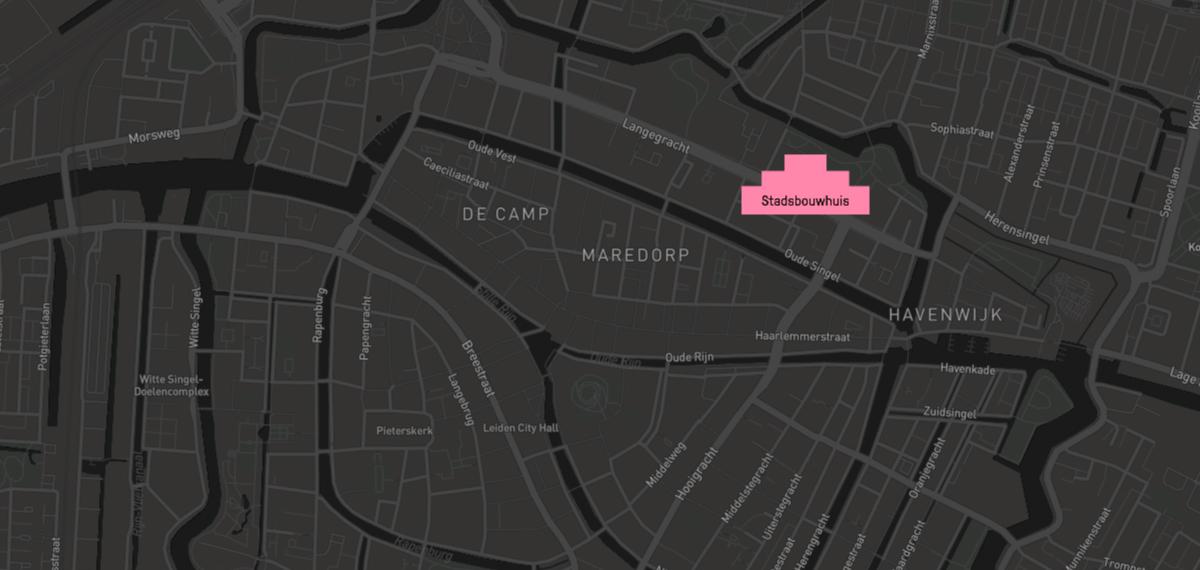 Stadsbouwhuis - Leiden - Het Nieuwe Collectief
